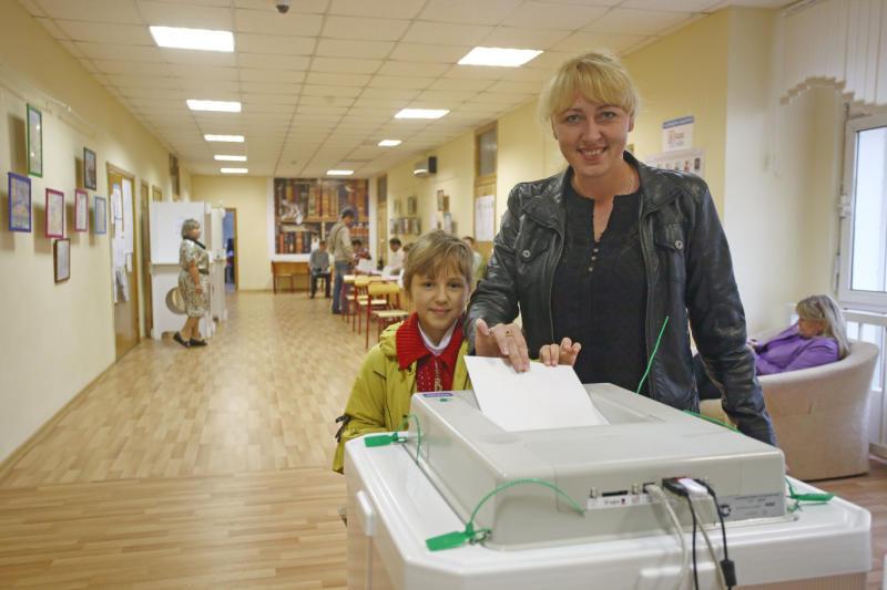 Избиратели оказались удовлетворены качеством информирования о выборах президента. Фото: архив, «Вечерняя Москва»