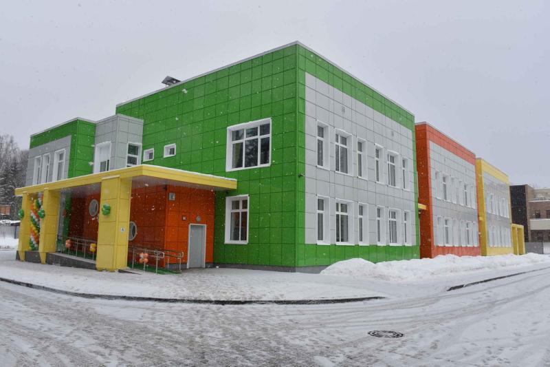 Детский сад и школу введут в эксплуатацию в Сосенском до конца 2018 года