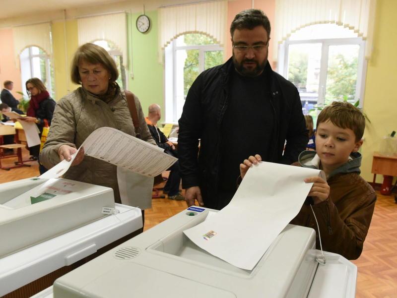 Технологией QR-кода смогут воспользоваться избиратели на двух тысячах участков в столице. Фото: архив, «Вечерняя Москва»