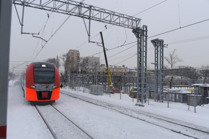 МЦК и МЖД продолжили работать по расписанию в снегопад