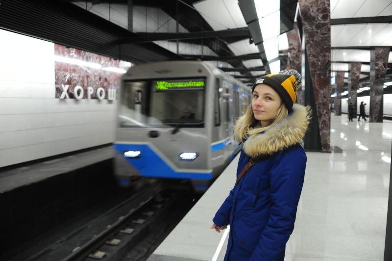 Среднесуточный пассажиропоток Большой кольцевой линии метро Москвы достиг 46,4 тысячи человек
