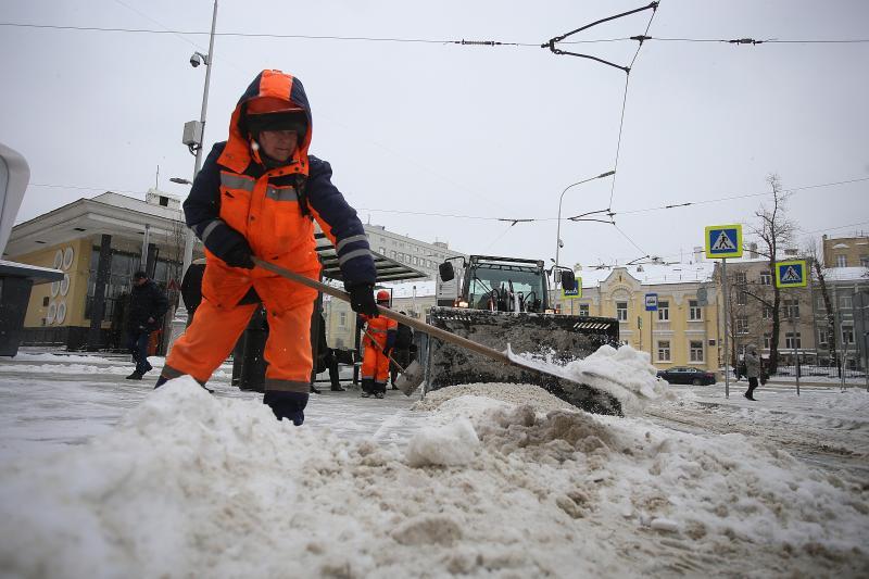 Коммунальщики Москвы перешли на усиленный режим работы