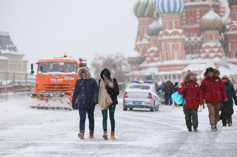 Зима задержится в Москве