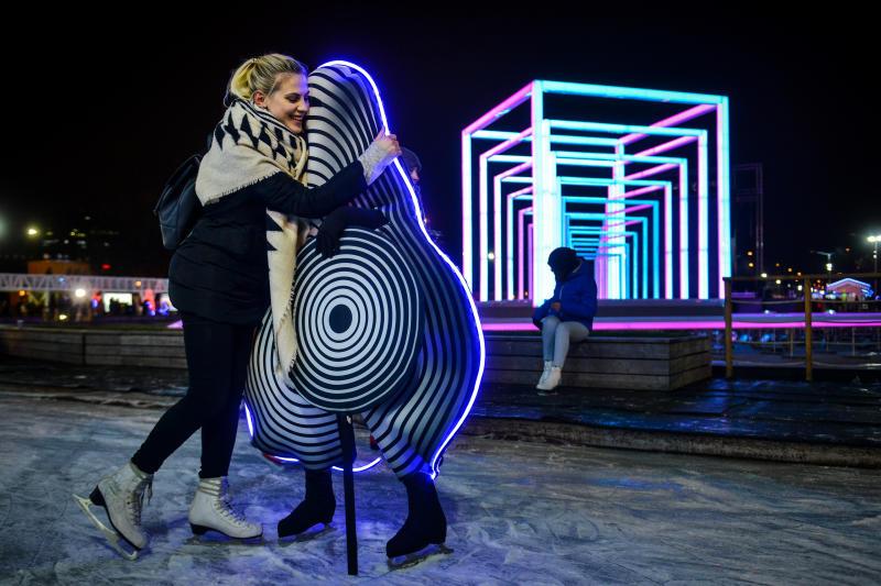 Более 48 тысяч человек поучаствовало в акции «Ночь на катке»