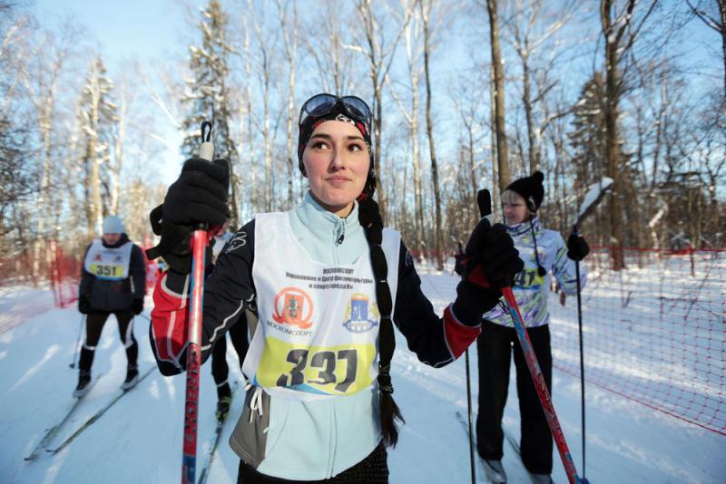 Лыжники Троицка завоевали призовые места в гонках