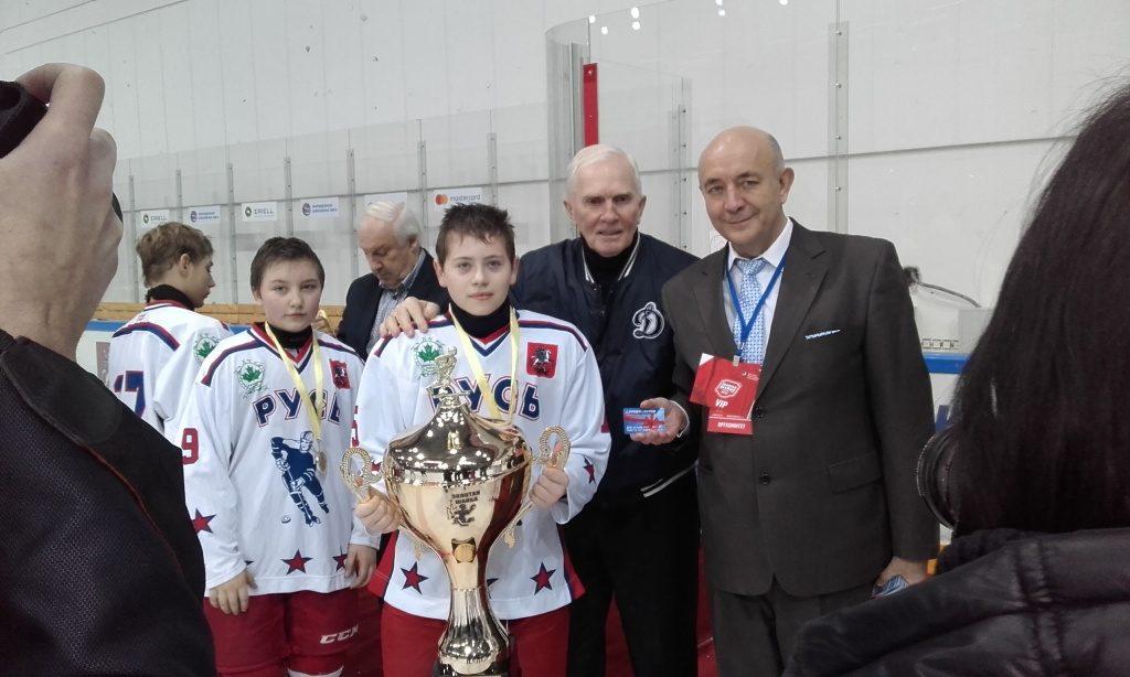 Хоккеисты из Новой Москвы выиграли городской этап турнира «Золотая шайба»