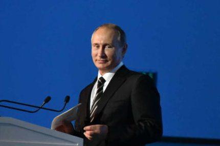 Владимир Путин принял участие в выборах президента