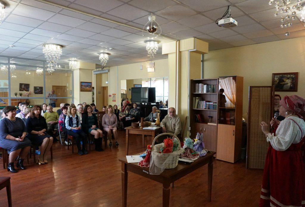 Мероприятие в рамках проекта «Московское долголетие» пройдет в Новофедоровском