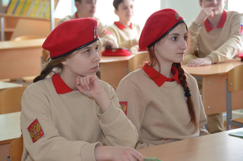 Юнармейцы узнали много нового на семинаре. Фото: администрация поселения Рязановское