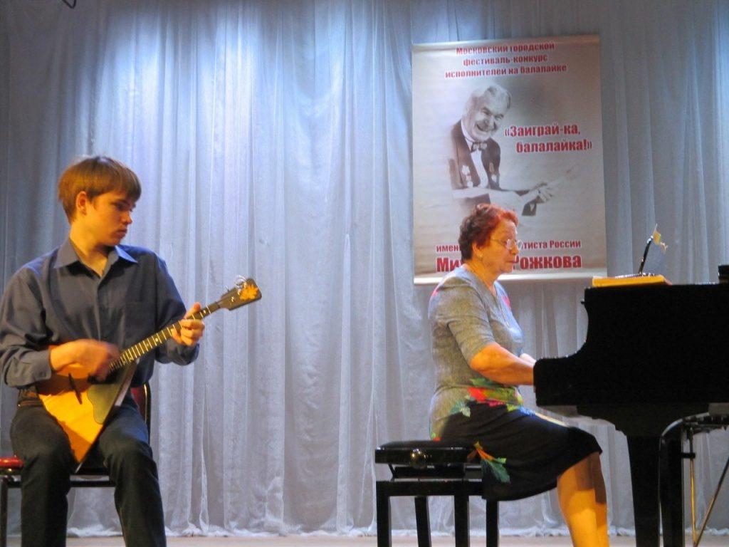 Виртуозы-балалаечники: в Краснопахорском определят самых способных исполнителей