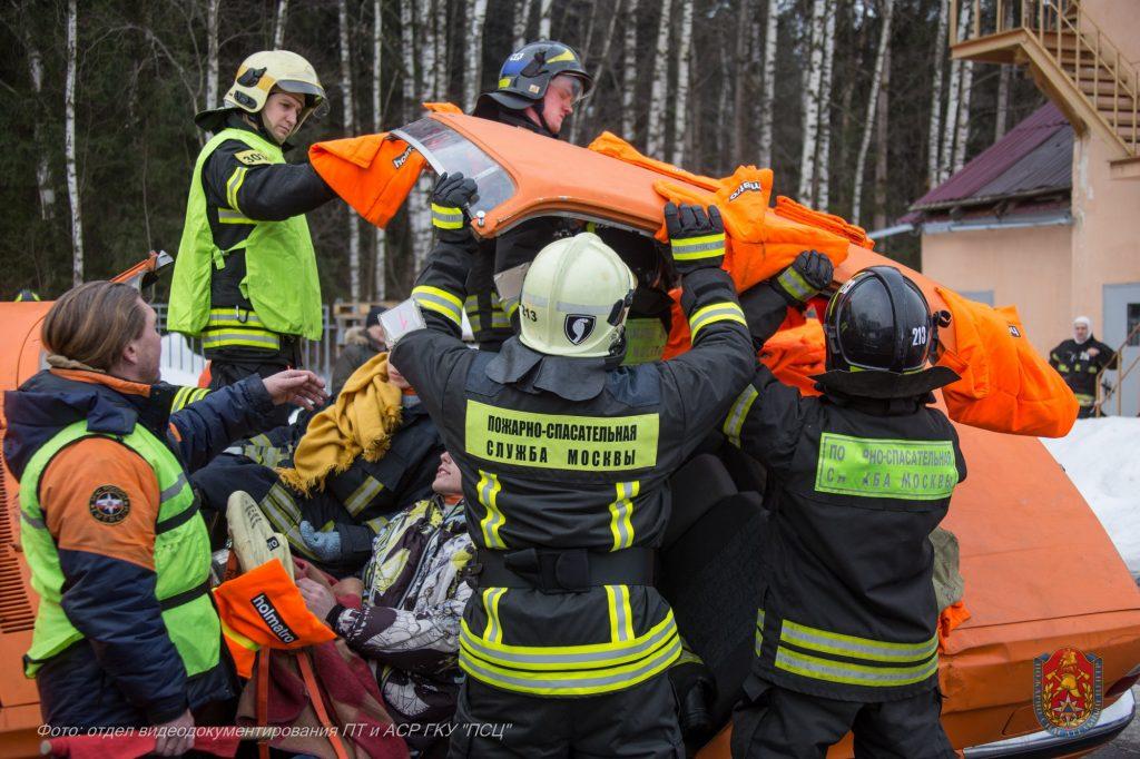 Соревнования помогают спасателям при ликвидации ДТП