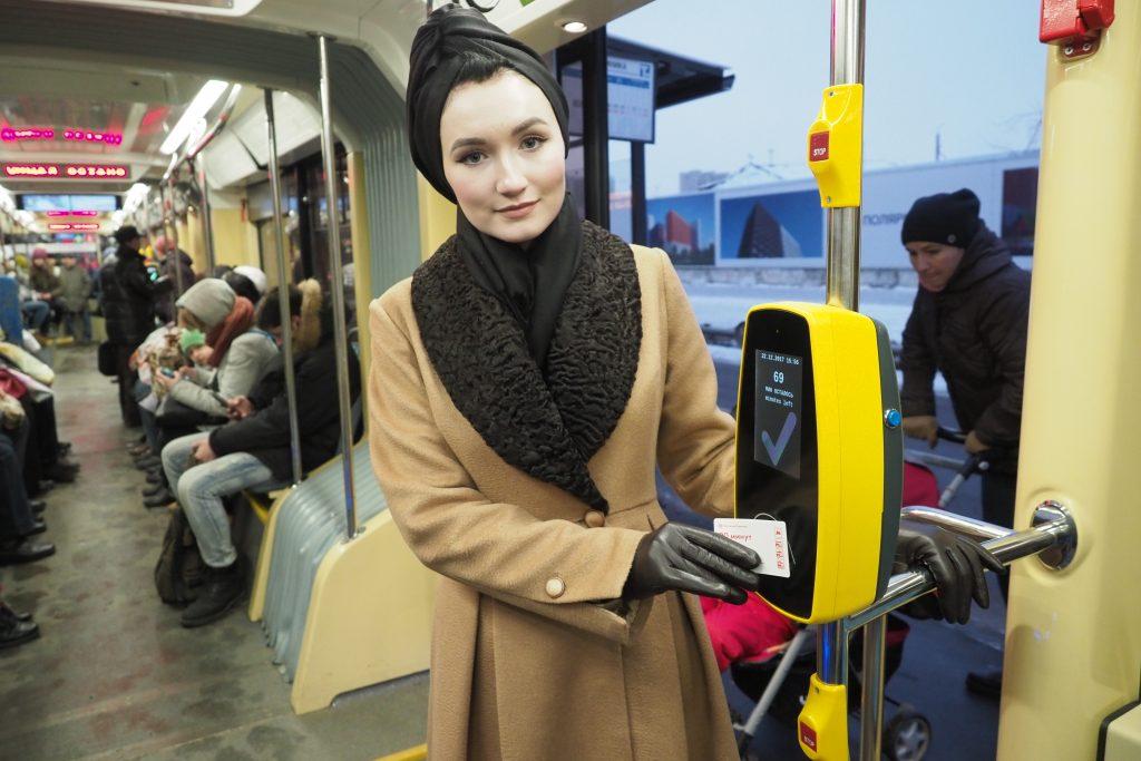 Бестурникетная система позволила москвичам сократить время поездки на автобусе