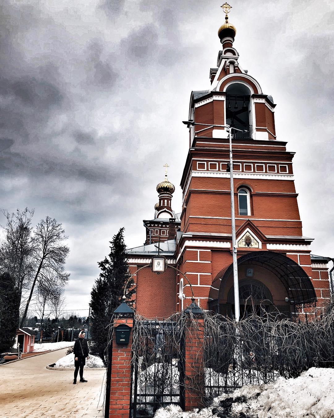 Церковь Спаса Нерукотворного Образа. Фото: страница пользователя mariesheremeteva в Instagram