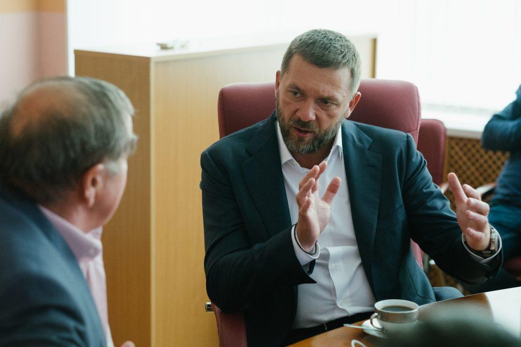 Дмитрий Саблин отчитался перед избирателями