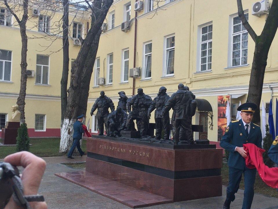 Памятник огнеборцам открыли в столице