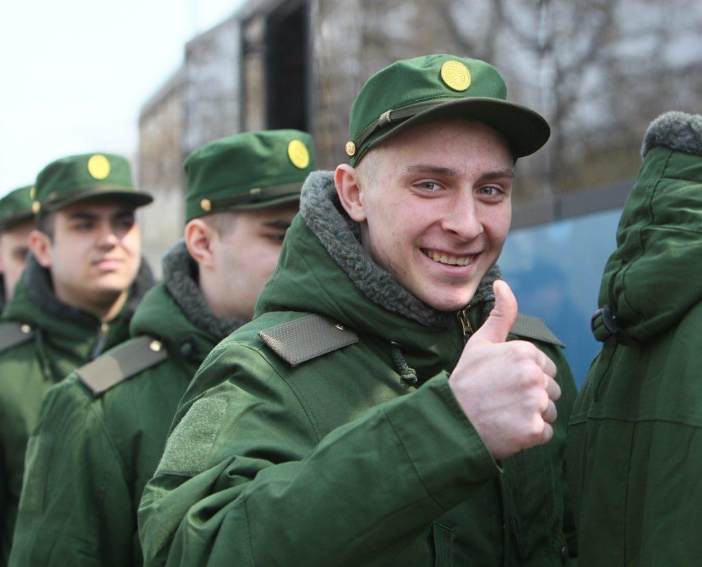 День призывника отпразднуют в Новой Москве. Фото: Александр Казаков, «Вечерняя Москва»