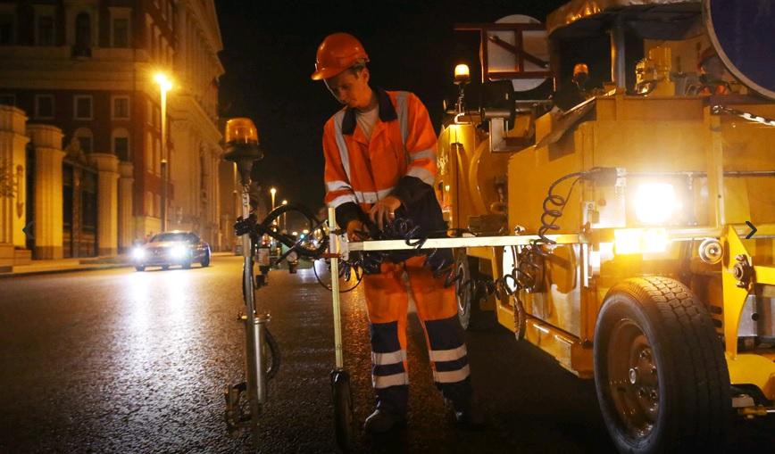 Работы проведут на центральных улицах. Фото: mos.ru