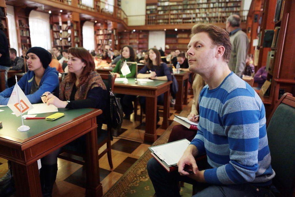 Текст «Тотального диктанта» в Рязановском написали более 70 жителей поселения