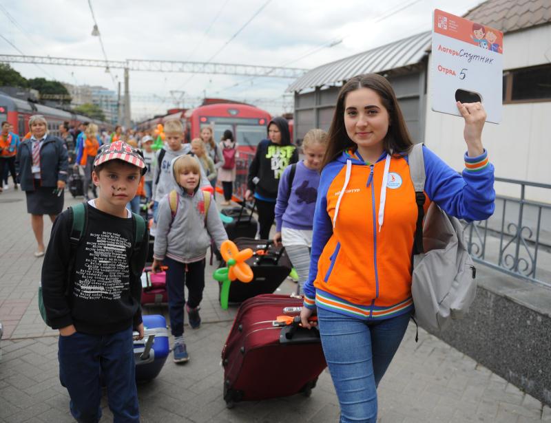 Более 40 тысяч московских детей и их родителей бесплатно отдохнут летом. Фото: Александр Кожохин, «Вечерняя Москва»
