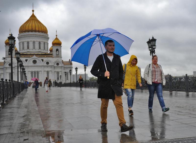 Дождливая неделя ожидается в Москве