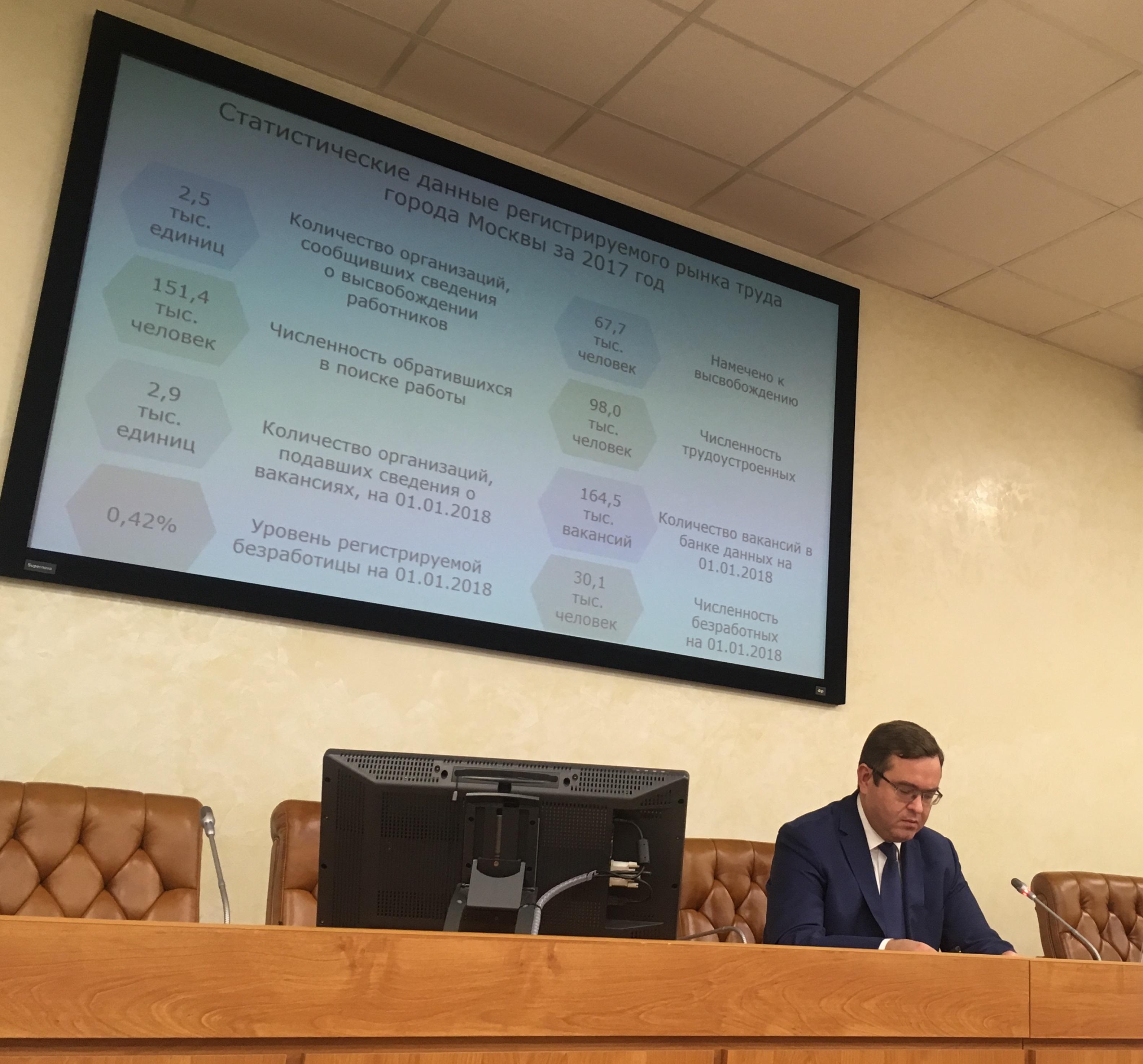 Тему трудоустройства обсудили в Москве