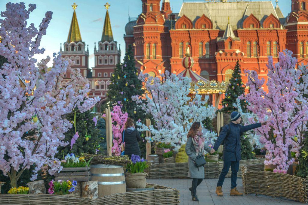 В понедельник Москве пообещали температуру под 20 градусов