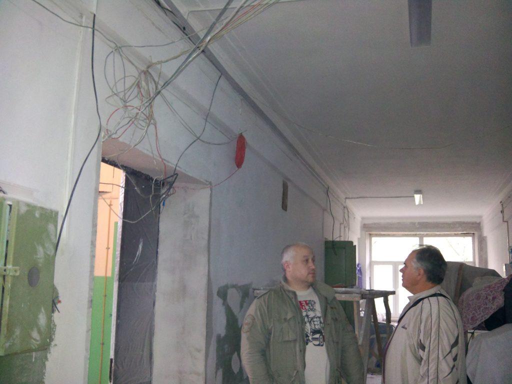 Капитальный ремонт в Кокошкино завершат в сентябре 2018 года. Фото: Анатолий Сидоров, «Вечерняя Москва»