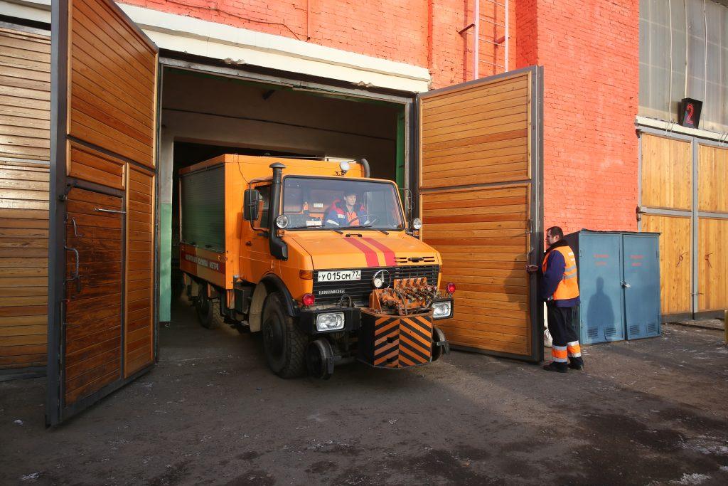 Здание для ремонта снегоуборочной техники оборудуют в Роговском