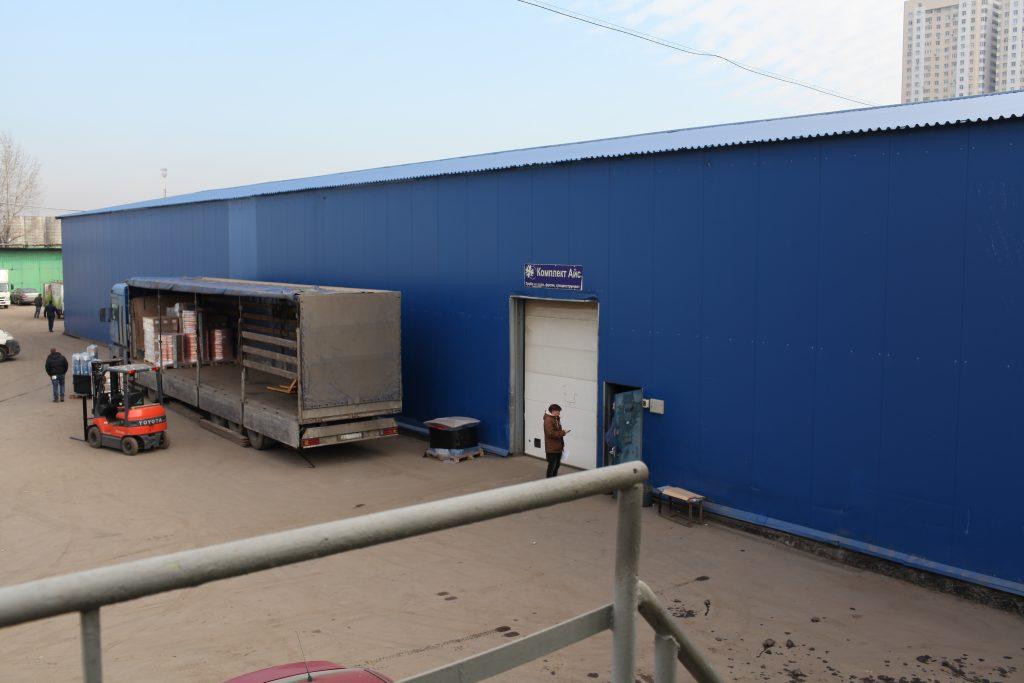 Площадь складского комплекса в Краснопахорском увеличат
