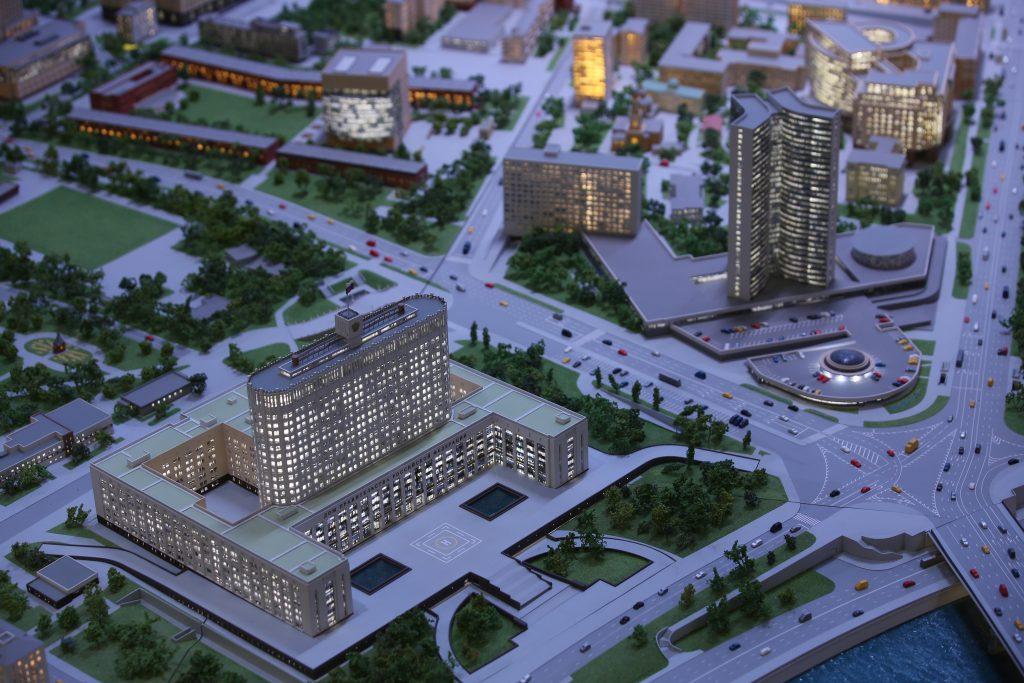 Горожан пригласили посмотреть на обновленный «Макет Москвы» на ВДНХ