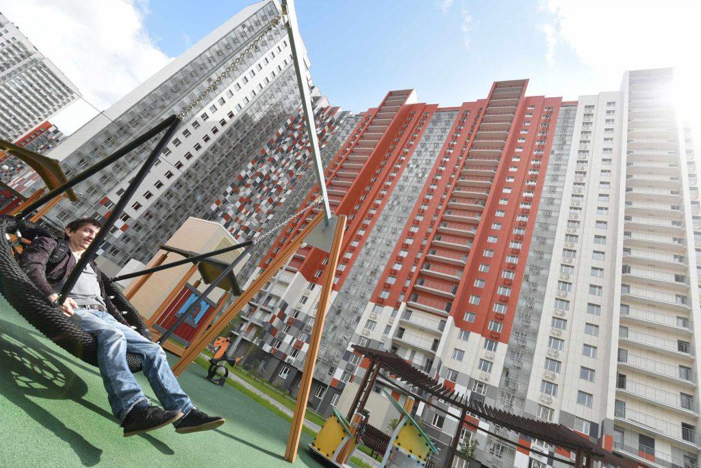Более 200 тысяч квадратных метров жилья ввели в эксплуатацию в Новой Москве с начала 2018 года
