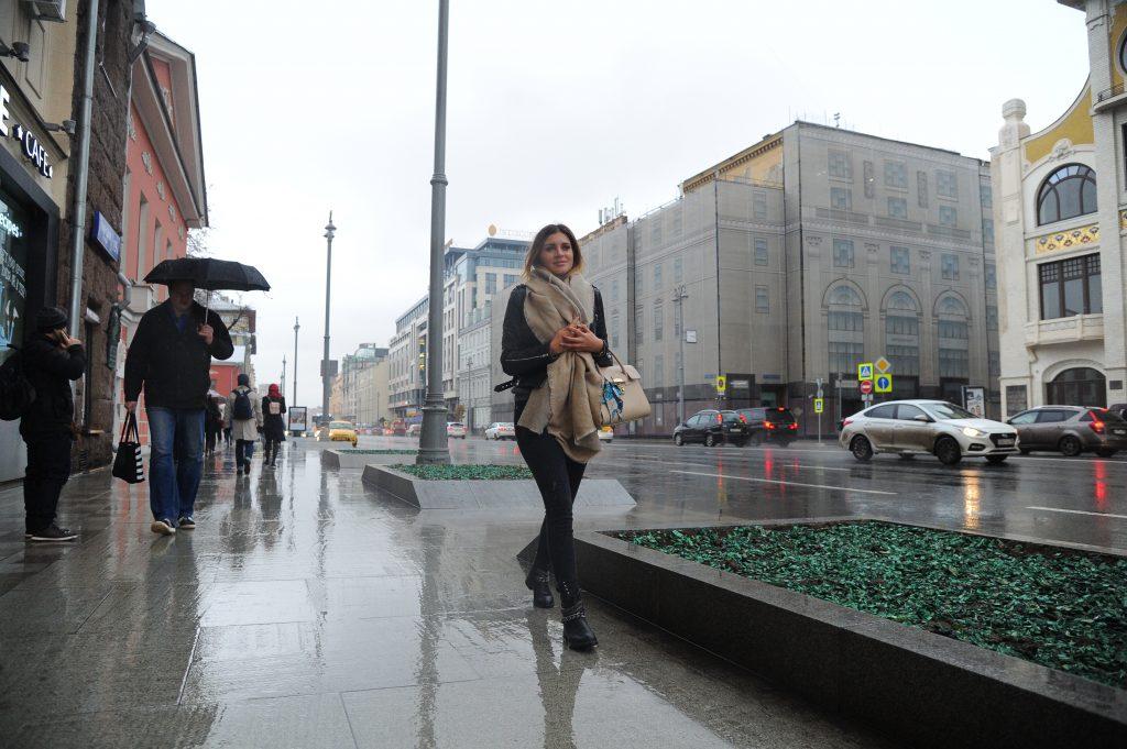 На неделе в Москву вернутся дожди и тепло