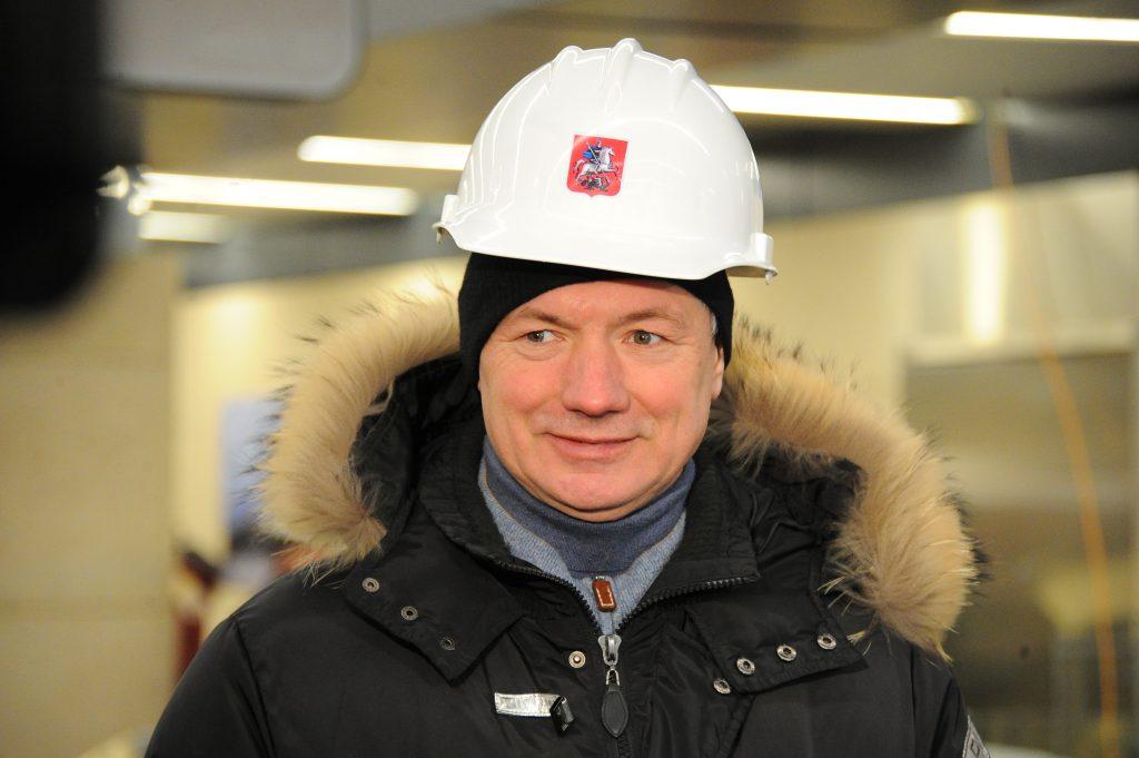 Об этом рассказал заммэра Москвы по вопросам градостроительной политики и строительства Марат Хуснуллин. Фото: Светлана Колоскова