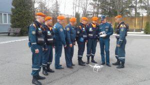 Занятия по подготовке расчетов беспилотных авиационных систем. Фото ЦСООР