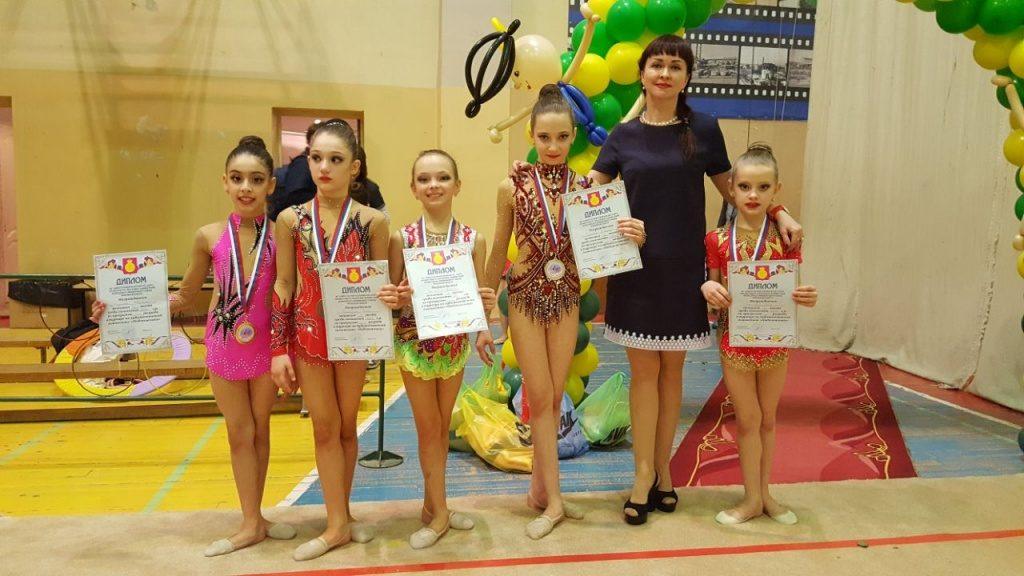 Гимнастки из Щербинки выступят на соревнованиях