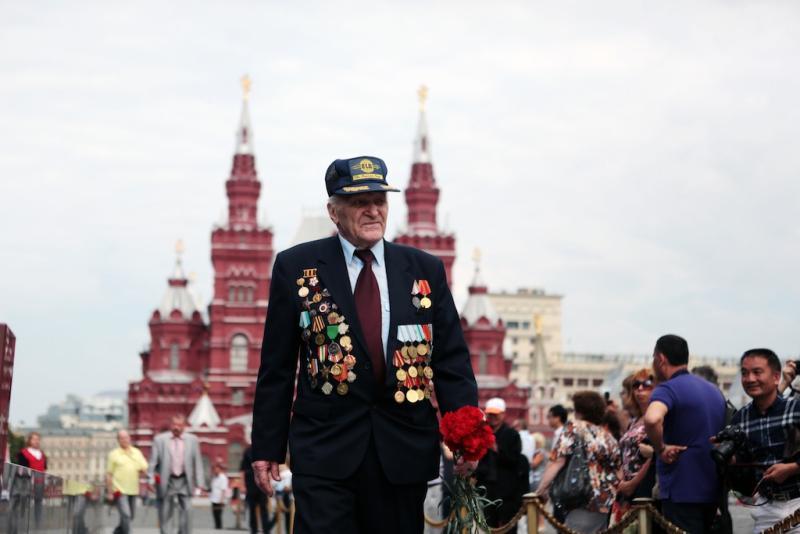 В Москве ограничат движение транспорта из-за подготовки к Параду Победы