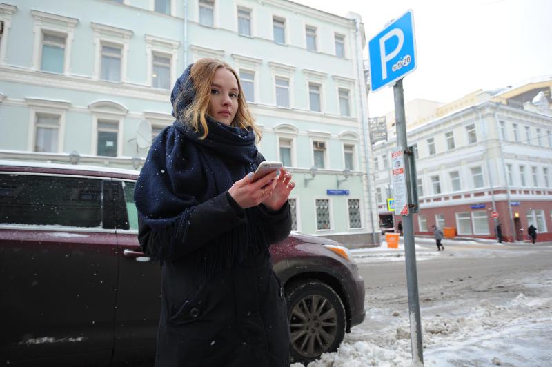 Свыше 20 тысяч жителей Москвы решили получить парковочные разрешения в марте