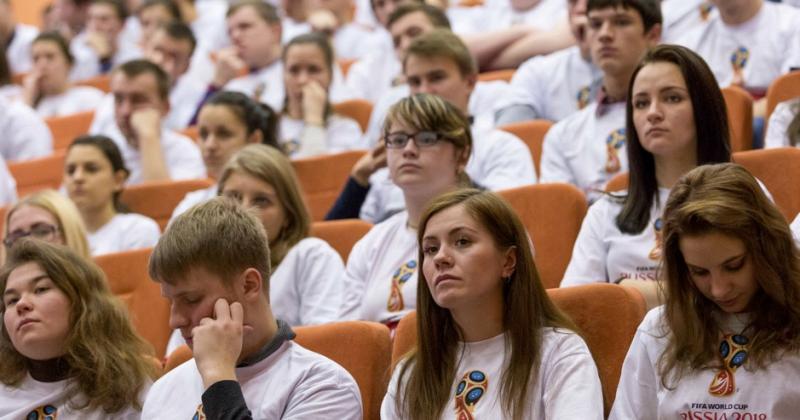 Для работы на ЧМ — 2018 по футболу в Москве подготовили шесть тысяч волонтеров