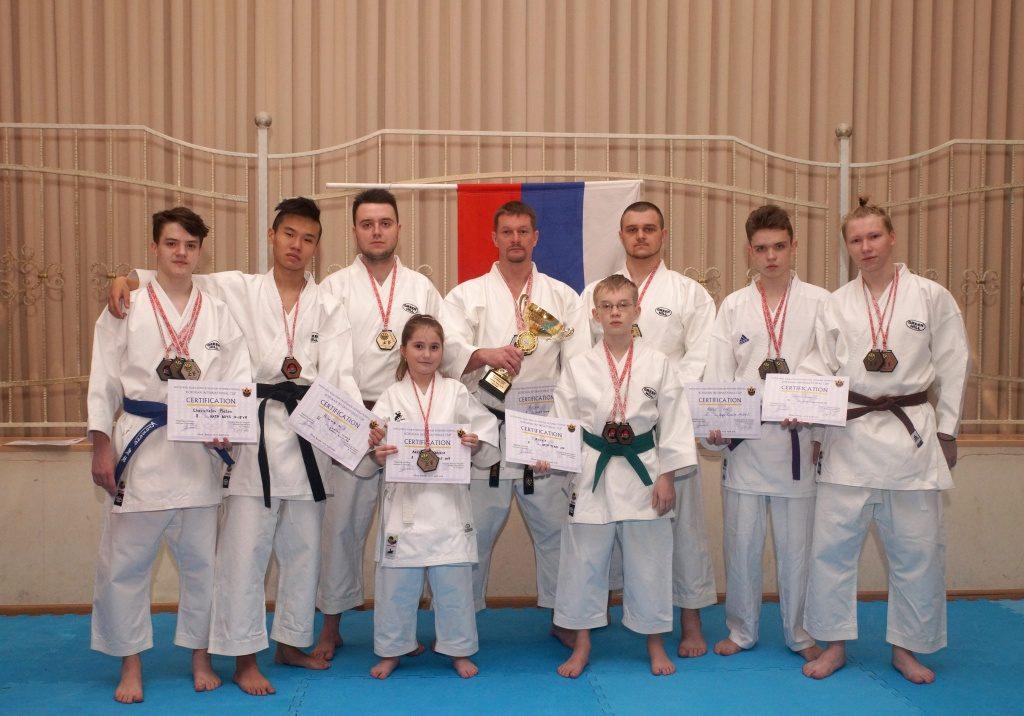 Более 15 медалей завоевали каратисты из Московского на Международном кубке. Фото: администрация ДК «Московский»