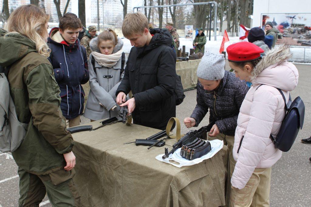 Военкомат Десеновского отпраздновал вековой юбилей