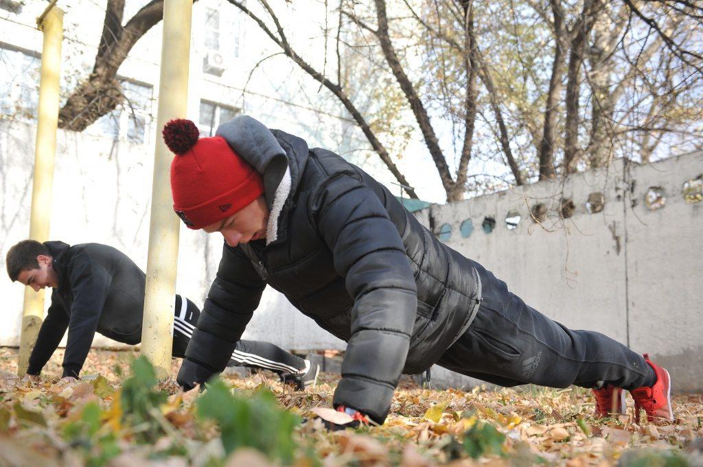 Молодые активисты Десеновского присоединились к военно-спортивному слету