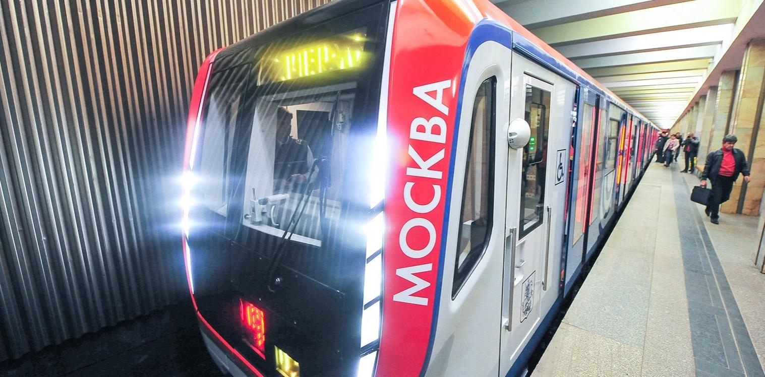 На «фиолетовой» ветке московского метро заменят все поезда до 2019 года