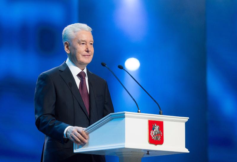 Мэр Москвы объявил о начале сезона фонтанов