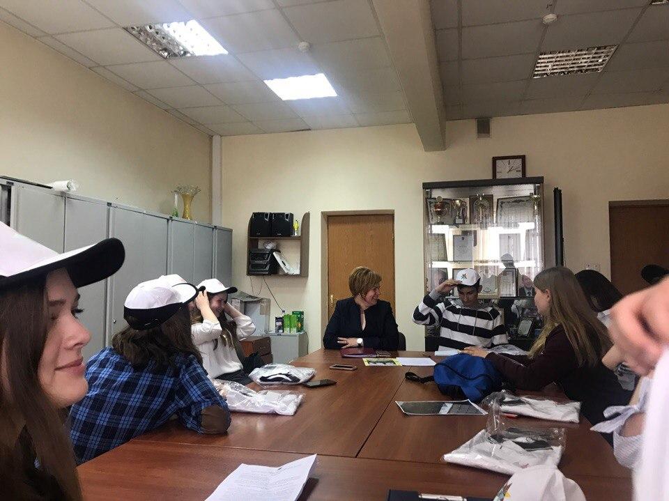 Активисты из Краснопахорского провели День самоуправления. Фото: Молодежная палата поселения Краснопахорское