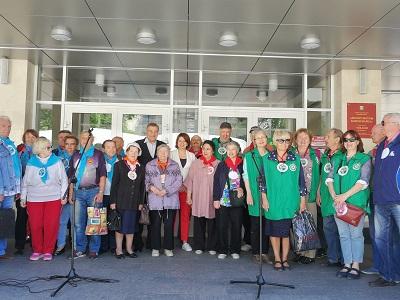 Пенсионеры из Московского поучаствовали в фестивале проекта «Активный гражданин»