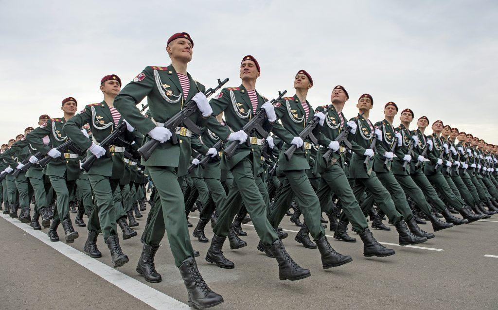 Министерство обороны провело генеральную репетицию парада Победы