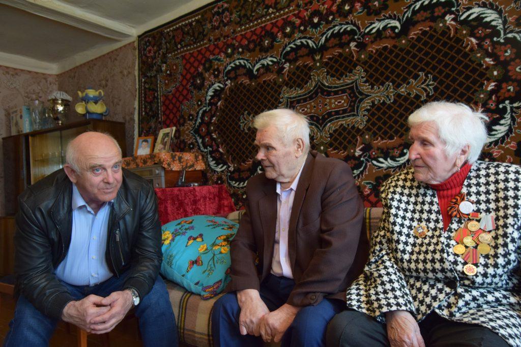Александр Гусев, глава поселения Внуковское, Мария Николаевна и Михаил Иванович Ильины
