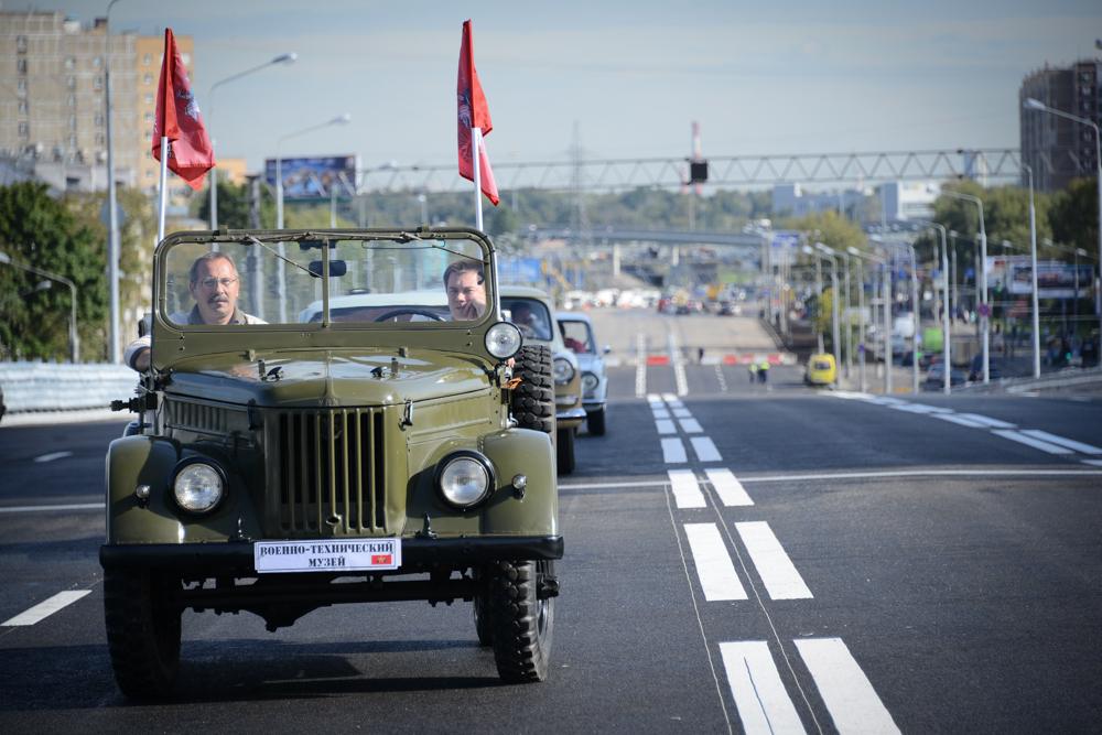Автопробег на машинах военных лет состоится в Москве