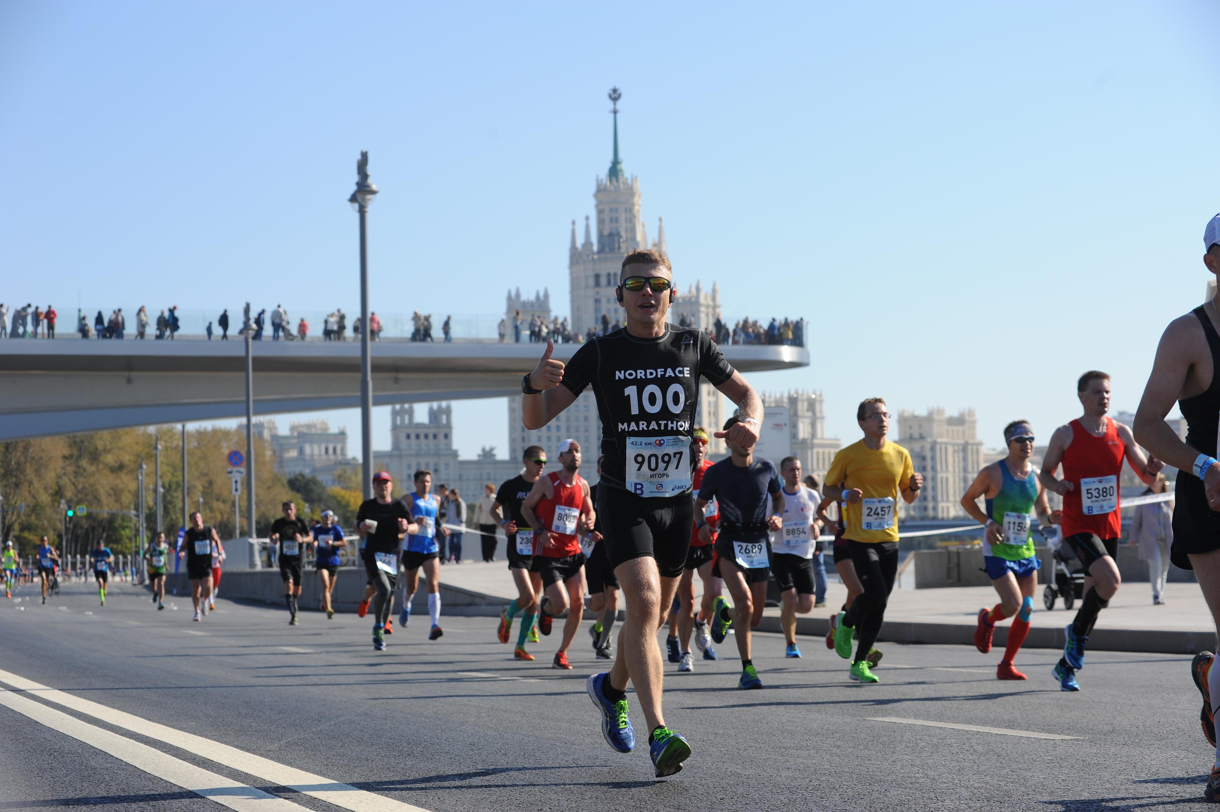 Благотворительный забег прошел 27 мая в Москве