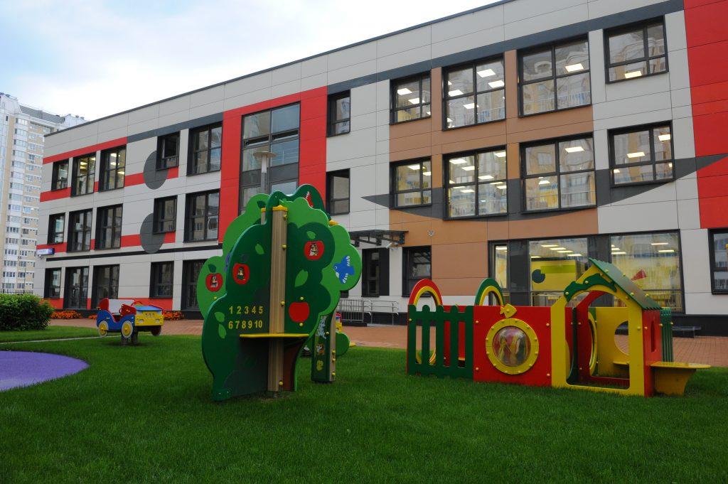 Новое дошкольное образовательное учреждение возведут в Рязановском